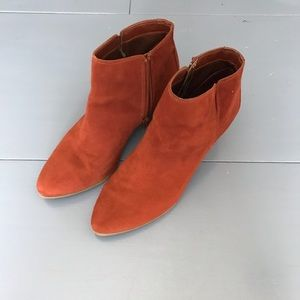 Shoes - Red-Brown Booties